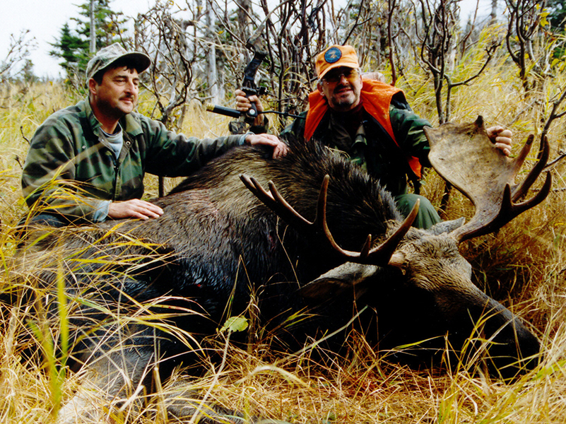 Two Hunters and Taken Bull