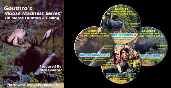 Moose Madness 'Series' 4 Disk Set